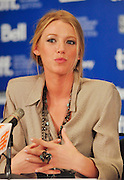 10.SEPT.2010. TORONTO<br /> <br /> BLAKE LIVELY ATTENDS THE TOWN PRESS CONFRENCE AT THE 35TH TORONTO FILM FESTIVAL IN TORONTO.<br /> <br /> BYLINE: EDBIMAGEARCHIVE.COM<br /> <br /> *THIS IMAGE IS STRICTLY FOR UK NEWSPAPERS AND MAGAZINES ONLY*<br /> *FOR WORLD WIDE SALES AND WEB USE PLEASE CONTACT EDBIMAGEARCHIVE - 0208 954 5968*