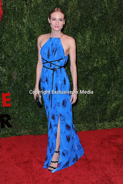 Oct. 15, 2015 - New York, NY, USA - <br /> <br /> Diane Kruger attending the 2015 God's Love WE Deliver Golden Heart Awards at Spring Studios on October 15, 2015 in New York City<br /> ©Exclusivepix Media