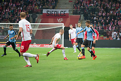 November 10, 2017 - Warsaw, Poland - Rodrigo Bentancur during the international friendly soccer match between Poland and Uruguay at the PGE National Stadium in Warsaw, Poland on 10 November 2017  (Credit Image: © Mateusz Wlodarczyk/NurPhoto via ZUMA Press)