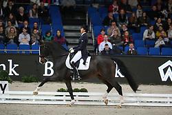 Ferrer-Salat Beatriz, (ESP), Sir Radjah<br /> Grand Prix Special<br /> Reem Acra FEI World Cup Dressage<br /> Stuttgart - German Masters 2015<br /> © Hippo Foto - Stefan Lafrentz