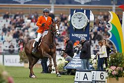 Van Der Schans Wout Jan, (NED), Aquila SFN <br /> Furusiyya FEI Nations Cup presented by Longines <br /> La Baule 2016<br /> © Hippo Foto - Dirk Caremans<br /> 13/05/16
