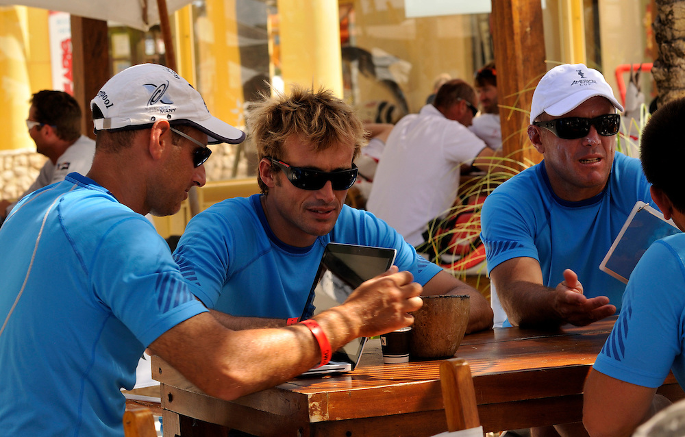 Crews relax at the ViP Village. Photo:Chris Davies/WMRT