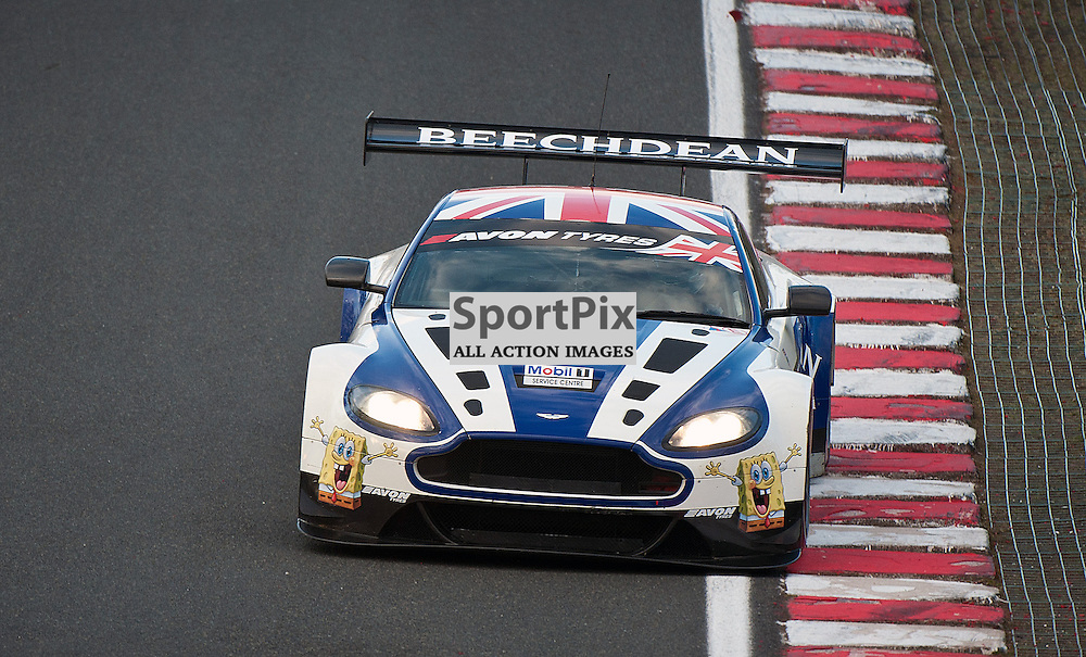 Beechdean AMR, Andrew Howard & Jonny Adam, Aston Martin Vantage GT3, GT3 - during qualifying at the first round of the Avon Tyres British GT Championship held at Oulton Park, Cheshire, UK.  30th March 2013 WAYNE NEAL | STOCKPIX.EU
