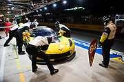 June 12-17, 2018: 24 hours of Le Mans. 64 Corvette Racing, Corvette C7.R, Oliver Gavin, Tommy Milner, Marcel Fassler