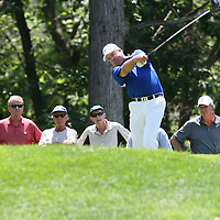 Kenny Perry teeing off on the 15th hole at the 2016 American Family Championship held at University Ridge Golf Course, Madison,  WI. on June 24, 2016.<br /> <br /> <br /> <br /> <br /> <br />  2016 American Family Championship held at University Ridge Golf Course, Madison,  WI. on June 23, 2016.