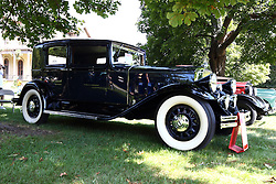 01 August 2015:  1931 Oierce Arrow 43 Club Sedan - Reggie & Janet Hankins.<br /> <br /> Displayed at the McLean County Antique Automobile Association Car show at David Davis Mansion in Bloomington Illinois