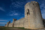 The ramparts of Aigues-Mortes and Constance Tower were built in 1242 by Saint Louis.  Under the tower are dungeons.  The ramparts are spectacular in their height and their state of preservation. Along with the Tower of Constance, they are a testimony to Western European military architecture in the during the 13th and 14th centuries.