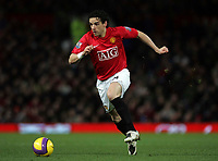 Photo: Paul Thomas/Sportsbeat Images.<br /> Manchester United v Fulham. The FA Barclays Premiership. 03/12/2007.<br /> <br /> Owen Hargreaves of Man Utd.