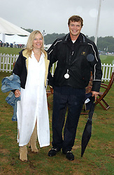 JACK & BE KIDD at the 2005 Cartier International Polo between England & Australia held at Guards Polo Club, Smith's Lawn, Windsor Great Park, Berkshire on 24th July 2005.<br /><br />NON EXCLUSIVE - WORLD RIGHTS