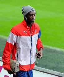 Arsenal's Abou Diaby  - Photo mandatory by-line: Joe Meredith/JMP - Mobile: 07966 386802 - 09/11/2014 - SPORT - Football - Swanswa - Liberty Stadium - Swansea City v Arsenal - Barclays Premier League