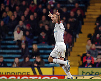 Photo: Kevin Poolman.<br />Crystal Palace v Colchester United. Coca Cola Championship. 09/12/2006. Colchester captain Karl Duguid celebrates his goal and Colchester's first.