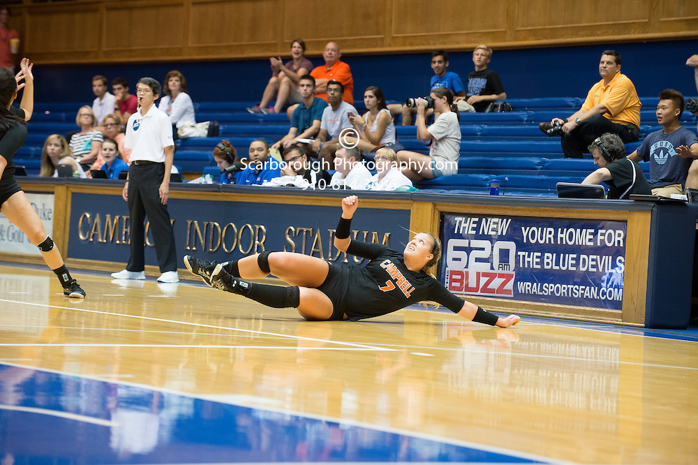2014 Campbell University Volleyball vs Duke at Cameron Indoor Stadium