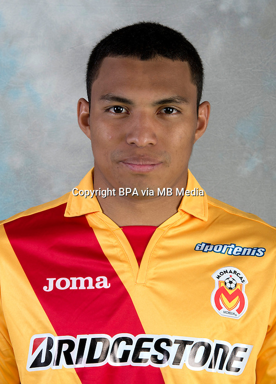 Mexico League 2013-2014 - First Division / <br /> Monarcas Morelia  / Mexico - <br /> JEFFERSON MONTERO
