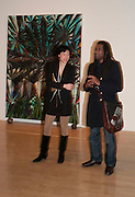 KAREN WONG; DEAN RICKETTS, Chris Ofili dinner to celebrate the opening of his exhibition. Tate. London. 25 January 2010