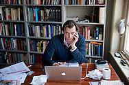 Thierry Baudet  Forum voor Democratie gaat meedoen aan de komende verkiezingen voor de Tweede Kamer. Dat heeft oprichter Thierry Baudet laten weten. De groep wil een politieke partij worden om ,,het systeem van binnenuit open te breken''. COPYRIGHT ROBIN UTRECHT