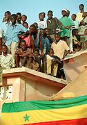 Children at an event - Podor Senegal
