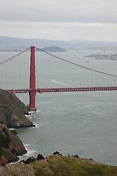 """""""Golden Gate Bridge 1"""" - Photograph of San Francisco's famous Golden Gate Bridge."""