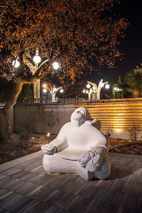 sensory garden sculpture