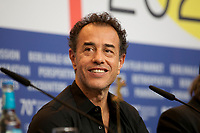 Director and Screenwriter Matteo Garrone at the photocall for the film Pinocchio at the 70th Berlinale International Film Festival, on Sunday 23rd February 2020, Hotel Grand Hyatt, Berlin, Germany. Photo credit: Doreen Kennedy