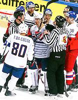Antoine Roussel - 07.05.2015 - Republique Tcheque / France - Championnat du Monde de Hockey sur Glace <br />Photo : Xavier Laine / Icon Sport