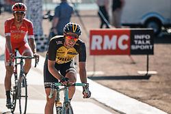 Finish of VAN EMDEN Jos during the 115th Paris-Roubaix (1.UWT) from Compiègne to Roubaix (257 km) at velodrome Roubaix, France, 9 April 2017. Photo by Pim Nijland / PelotonPhotos.com | All photos usage must carry mandatory copyright credit (Peloton Photos | Pim Nijland)