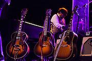 "Elvis Costello performing for the ""Veranos de la villa""  at the Price Circus, Madrid."