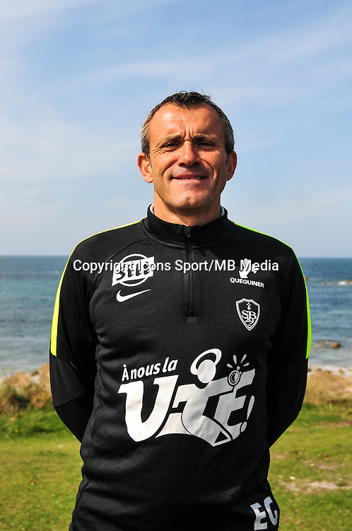 Eric Guichard - 09.09.2015- Photo Officielle de Brest - Ligue 2<br /> Photo : Philippe Le Brech / Icon Sport