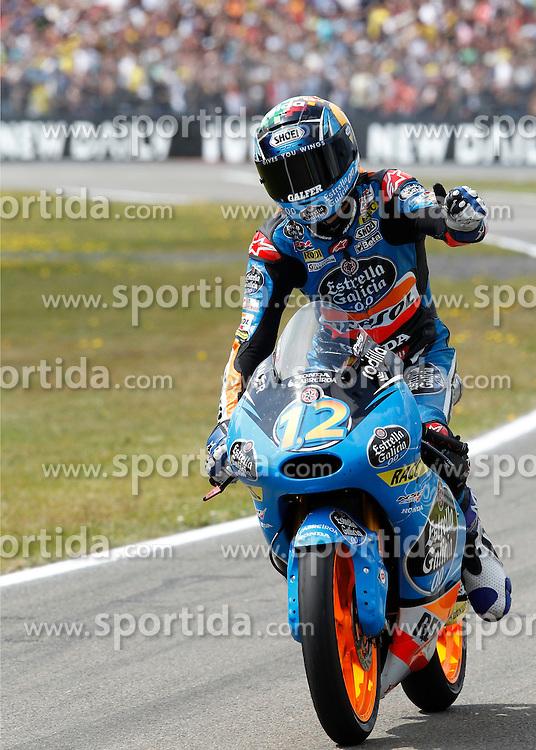 28.06.2014, TT Circuit, Assen, NED, MotoGP, Assen, im Bild 12 Alex Marquez // during the MotoGP Iveco TT Assen at the TT Circuit in Assen, Netherlands on 2014/06/28. EXPA Pictures &copy; 2014, PhotoCredit: EXPA/ Eibner-Pressefoto/ FOTO-SPO_AG<br /> <br /> *****ATTENTION - OUT of GER*****