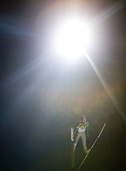 Janne Ahonen of Finland competes during First round of the FIS Ski Jumping World Cup event of the 58th Four Hills ski jumping tournament, on January 6, 2010 in Bischofshofen, Austria. (Photo by Vid Ponikvar / Sportida)