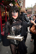 PRINCESS ZORA, Dirty Pretty Things - summer party. Lingerie line hosts  party celebrating its new online shop and showcasing the latest collection. The Lingerie Collective, 8 Ganton Street, Soho. London, 15 June 2011<br /> <br />  , -DO NOT ARCHIVE-© Copyright Photograph by Dafydd Jones. 248 Clapham Rd. London SW9 0PZ. Tel 0207 820 0771. www.dafjones.com.