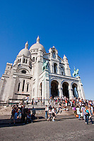 Sacre Coeur Basilica in Paris France in May 2008