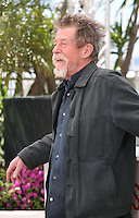 Actor John Hurt at Only Lovers Left Alive Photocall Cannes Film Festival On Saturday 26th May May 2013