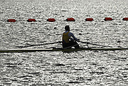 Caversham, Nr Reading, GREAT BRITAIN, Nick BAKER, BIRO Sculling Test, invited scullers under go a time trial and then a six abreast race over 2000 meters at the British International Rowing complex at Caversham Lake, on Wed 22.11. 2006. [Photo, Peter Spurrier/Intersport-images]. Rowing course: GB Rowing Training Complex, Redgrave Pinsent Lake, Caversham, Reading