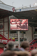 In memory of Martyn Harrison the Sky Bet League 1 match between Sheffield Utd and Coventry City at Bramall Lane, Sheffield, England on 13 December 2015. Photo by Mark P Doherty.