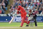 Alex Davies during the NatWest T20 Blast final match between Northants Steelbacks and Lancashire Lightning at Edgbaston, Birmingham, United Kingdom on 29 August 2015. Photo by David Vokes.