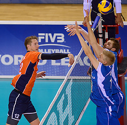 20150614 NED: World League Nederland - Finland, Almere<br /> Kay van Dijk #12