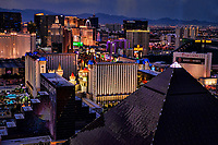 Las Vegas Strip from Mandalay Bay Hotel