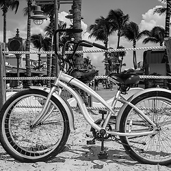 More for the bike collection. This one at the beach in Ft Myers Beach, Florida.