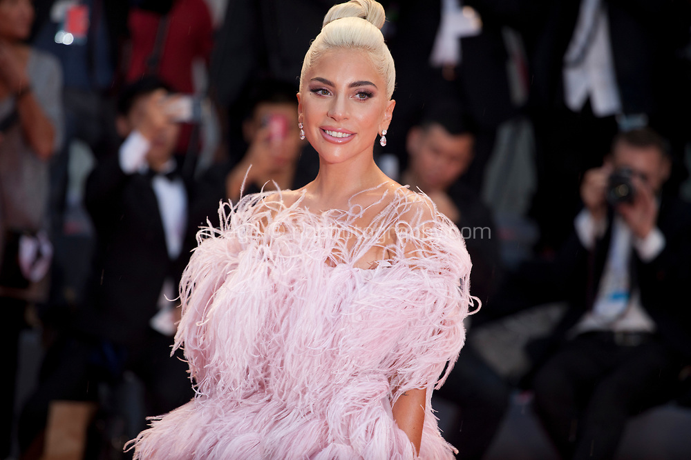 Lady Gaga at the premiere gala screening of the film A Star is Born at the 75th Venice Film Festival, Sala Grande on Friday 31st August 2018, Venice Lido, Italy.