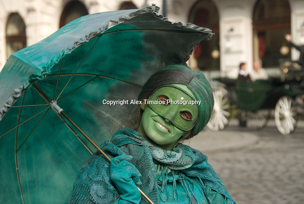 Baroque Lady in Vienna