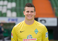 German Soccer Bundesliga 2015/16 - Photocall of Werder Bremen on 10 July 2015 in Bremen, Germany: gaolie Michael Zetterer