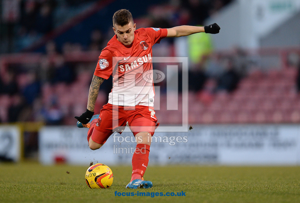 Picture by Andrew Timms/Focus Images Ltd +44 7917 236526<br /> 11/01/2014<br /> Dean Cox of Leyton Orient during the Sky Bet League 1 match against Carlisle United at the Matchroom Stadium, London.