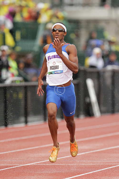 Olympic Trials Eugene 2012: men's 400  meters semifinal, Tony McQuay, Olympian,