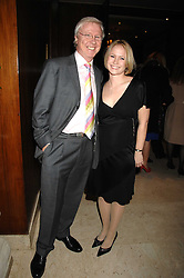 TV producer MIKE HOLLINGSWORTH and MISS KIMBERLEY STEWART-MOLE at a dinner to promote the Holders Season in Barbados held at The Four Seasons Hotel, Hamilton Place, London W1 on 30th January 2008.<br /> <br /> NON EXCLUSIVE - WORLD RIGHTS (EMBARGOED FOR PUBLICATION IN UK MAGAZINES UNTIL 1 MONTH AFTER CREATE DATE AND TIME) www.donfeatures.com  +44 (0) 7092 235465