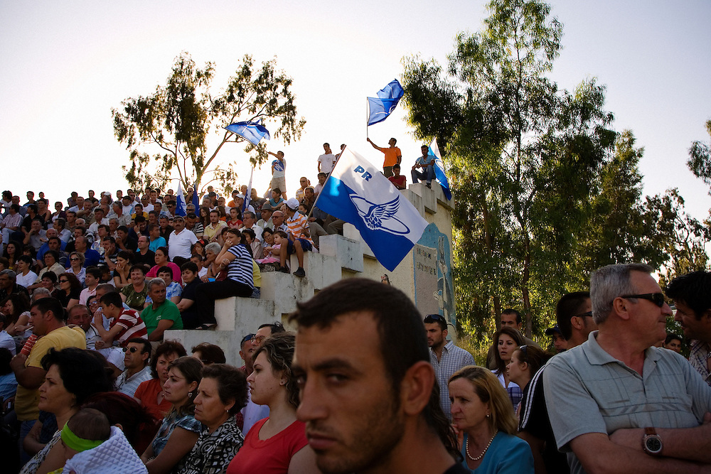 Political rally in Vlore