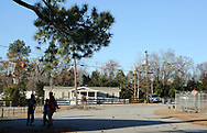Kids playing basket ball, their parents didn't allow them to have their picture taken.<br />