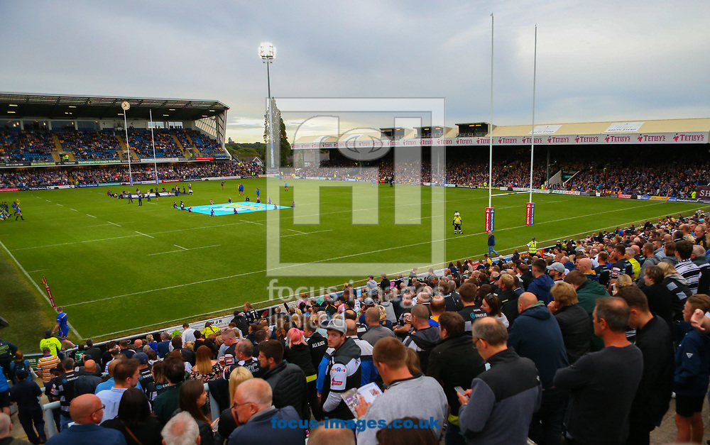 General Stadium  view ahead of Leeds Rhinos vs of Hull FC during the Betfred Super League match at Headingley Carnegie Stadium, Leeds<br /> Picture by Stephen Gaunt/Focus Images Ltd +447904 833202<br /> 14/07/2017