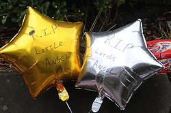 © Licensed to London News Pictures. 07/01/2016<br />  Flowers and Balloons at the home of murdered Sian Blake.<br /> <br /> Ex-Eastenders actress Sian Blake's home in Erith,Kent has turned into a crime scene (07.01.2016) with officers from the Met's Homicide and Major Crime Command leading the murder investigation.<br /> <br /> (Byline:Grant Falvey/LNP)