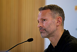 DUBLIN, IRELAND - Monday, October 15, 2018: Wales' manager Ryan Giggs during a press conference at the Aviva Stadium ahead of the UEFA Nations League Group Stage League B Group 4 match between Republic of Ireland and Wales. (Pic by David Rawcliffe/Propaganda)