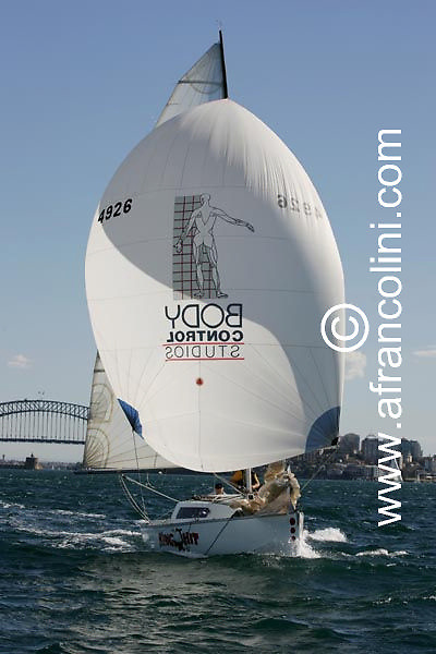 SAILING - BMW Winter Series 2004/ Sydney  (AUS) - KING HIT - 4/07/04 - Photo: Andrea Francolini